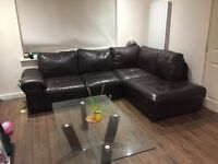 Corner sofa fast sale, 250 ONO, must go before end of the month