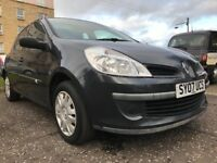 ★ 2007 Renault Clio Expression 1.4, 5dr ★ 69,000 MLS ★ GOOD SERV HIST ★ FULL YEARS MOT★ EXC CONDN