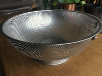 LiveFresh Stainless Steel Micro-perforated 4.7 Liter COLANDER
