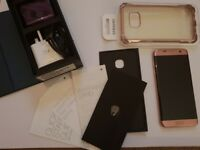 samsung s7 edge 32gb rose gold perfect condition