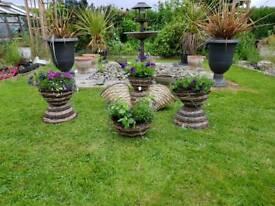 Beautiful Wicker Hanging baskets