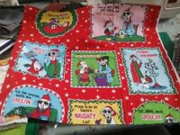 Xmas fabric for projects