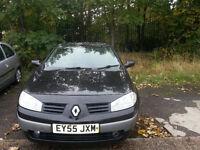 Renault Megane Convertable 1.6 petrol