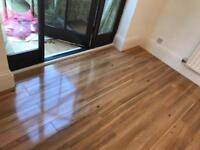 Laminate and wooden floor installation/ fitter