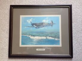 Spitfire 'One Of The Few' Framed Picture