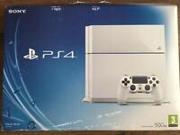 PS4 with five games
