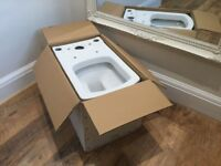 Brand new Victoria plum toilet