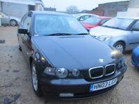 BMW 320TD SE COMPACT, 03 REG