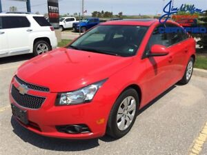 2014 Chevrolet Cruze 1LT REAR CAMERA SUNROOF BLUETOOTH OFF LEASE