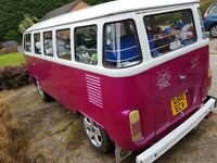 VW 14 Window Bay Camper! Original Cargo Door Argentinian Special Camper 1 of 12 Factory Buses