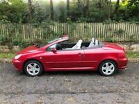 Spares Or Repairs Peugeot 307 cc Convertible, 93,000 Miles, NO MOT, Full Leather Interior