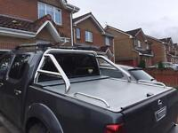 Nissan navara d40 armadillo roller cover and roll bars