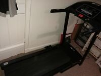 Pro Fitness Treadmill with Speakers