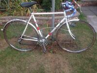 Vintage retro viscount Tony Doyle 14 speed road bike,56cm frame,700c wheels,tourney brakes