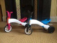 Bunzi Chillafish balance bike / tricycle