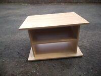 Free television shelf unit