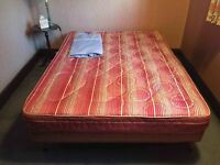 """Double bed (4'6"""") with base - free"""