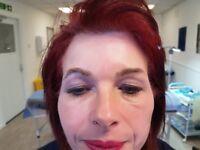 Semi permanent make up eyebrow tattooing