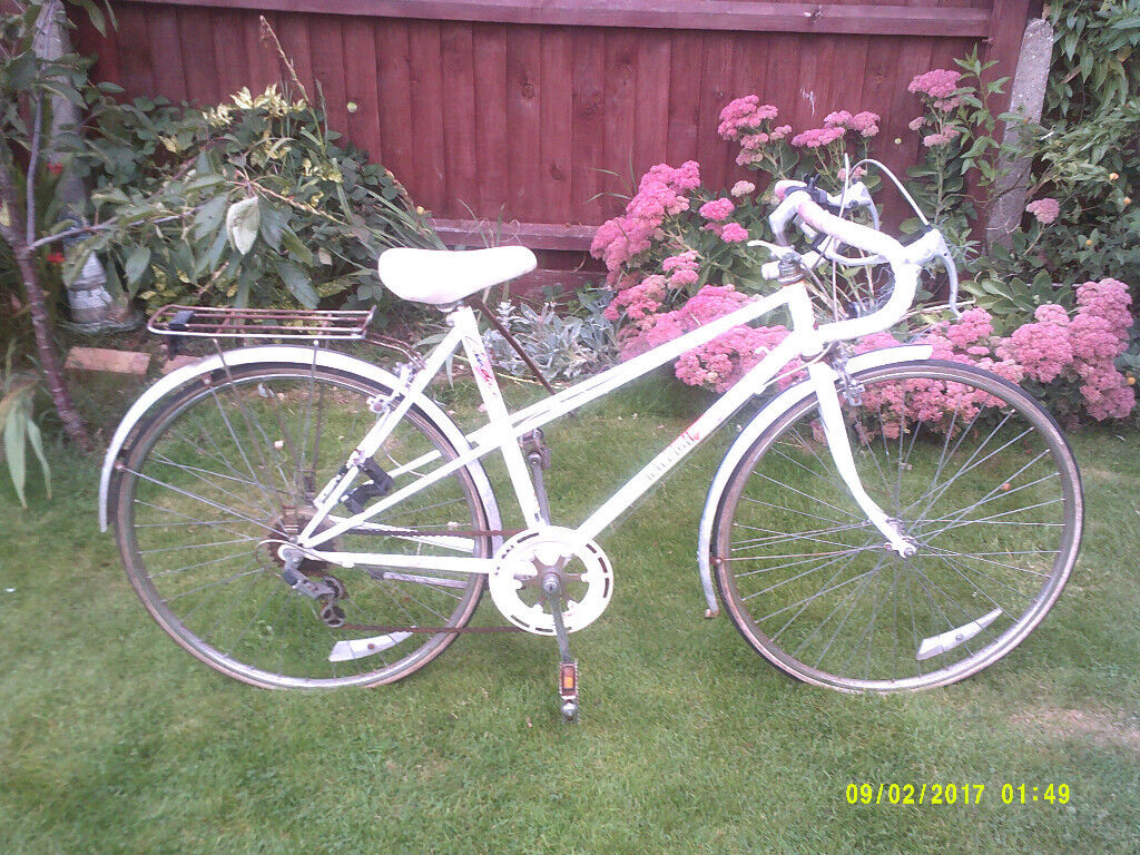 RALEIGH CAPRICE LADIES RACER ONE OF MANY QUALITY BICYCLES FOR SALE