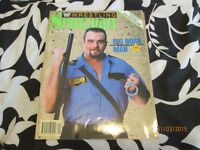 RARE WWF / WWE WRESTLING SPOTLIGHT MAGAZINE NO 10 BIG BOSS MAN 1990