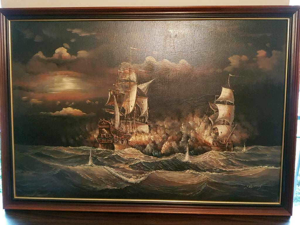 Oil Painting By J Harvey In Kirby Cross Essex Gumtree
