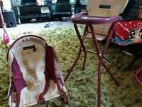 FREE!! teddy/doll highchair and bouncer