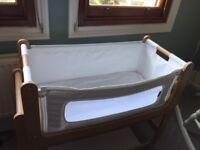 Snuzpod 2 bedside cot for sale excellent condition