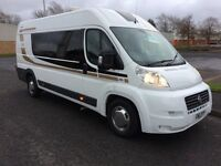 Fiat Ducato extra long Campervan 11 Reg 2 berth shower toilet hob and sink tv and DVD player