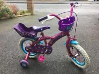 Girls Puppy bike