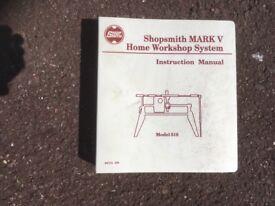 Shopsmith MKV Woodworking Tool