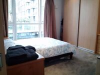 Large double bedroom w ensuite in modern flat near Aldgate/Tower Hill