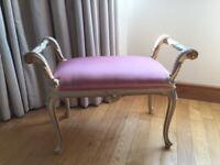 SILIK italian baroque style stool