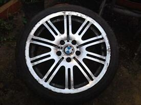 Spare alloy wheel for BMW 3/5 series