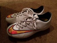 Size 1 Nike football boots