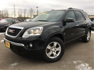 2012 GMC Acadia SLE 8 PASSENGER ON STAR REAR A/C