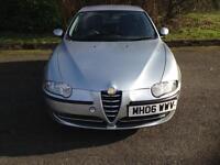 Alfa Romeo 147 tspark 1.6 silver