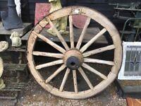 Large Cart Wheel