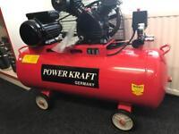 100L PowerKraft Germany Air Compressor For Sale!!!!!