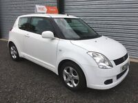 2007 SUZUKI SWIFT VVTS GLX FULL 12 MONTHS MOT & 6 MONTHS WARRANTY DEBIT & CREDIT CARDS ACCEPTED