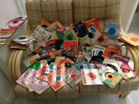 Selection of 45's, 78's & LP's