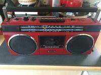 Hitachi cassette player