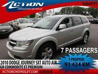 2010 Dodge Journey FWD SXT 7 PASS. AIR V6 GR PREMIUM ET COMMIDIT