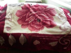 Bed throw- Blanket