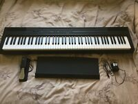 Yamaha P115 Digital Piano - Black