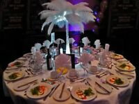 Busy PS Deco Ltd. We hire event materials to any events such as Weddings and Private events.