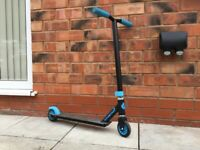 Blue and Black Scooter