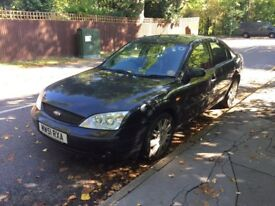 Leather interior Ford mondeo Ghia X 2.00 litres for sale, MOT, drives good.