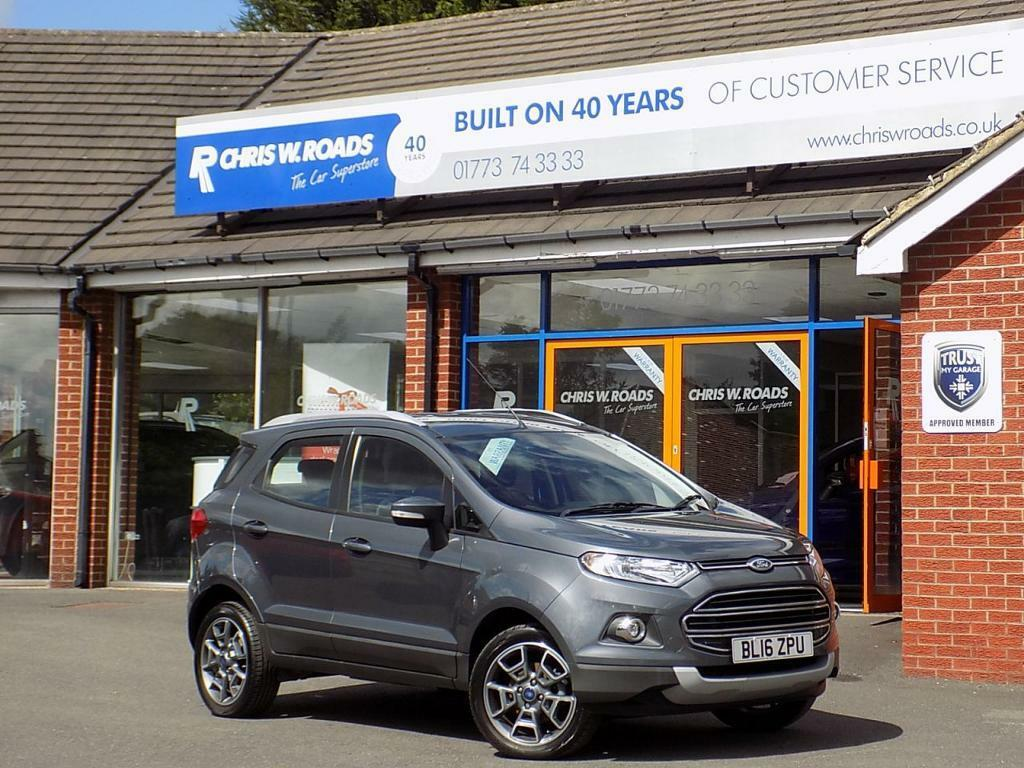 Ford Ecosport   Tdci Titanium Dr Low Miles Full Service History Grey