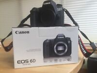 Canon 6D WG body only, excellent condition