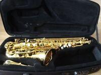 2 year old Selmer SA 80 Series II Alto Sax - Jubilee - Gold lacquer